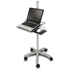 Ziotek Aluminum Mobile Notebook Workstation Cart ZT1110389 at Sears.com