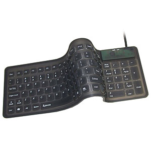 Adesso Flexible Compact Keyboard Usb W/ Ps2 Adapter at Sears.com
