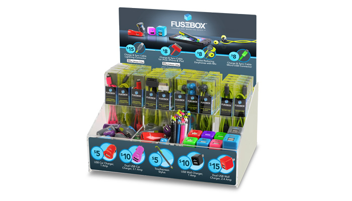 e filliate mobile accessory solutions Juice Box Charger fusebox back to brands